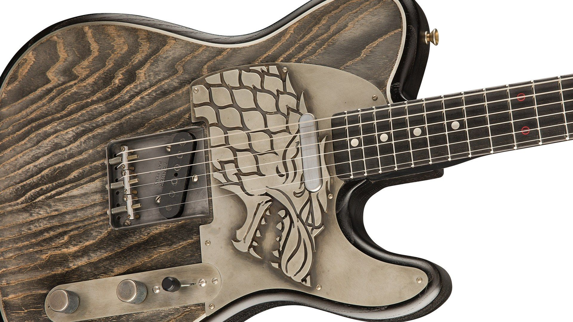 """Pour 26 000 euros, cette guitare """"Game of Thrones"""" est à vous"""