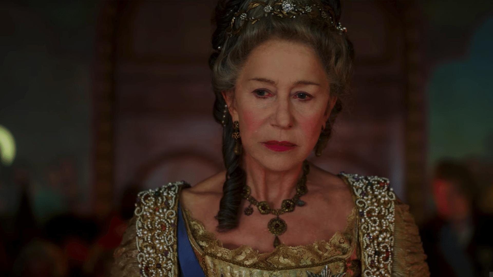 """Helen Mirren remonte sur le trône avec la série """"Catherine The Great"""""""