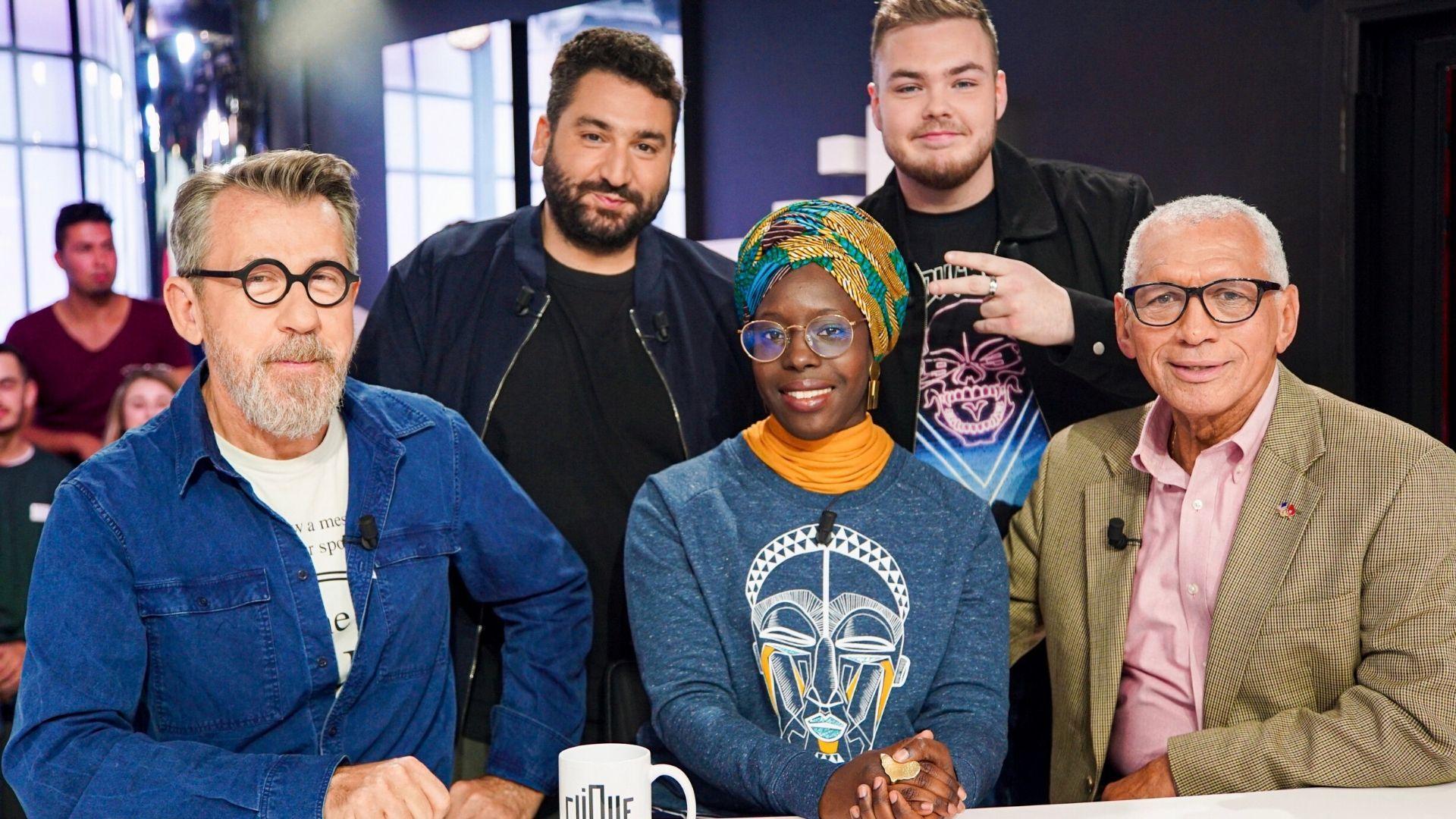 Clique a la tête dans les étoiles avec Jamy Gourmaud, Charles Bolden, Fatoumata Kébé et Rémy