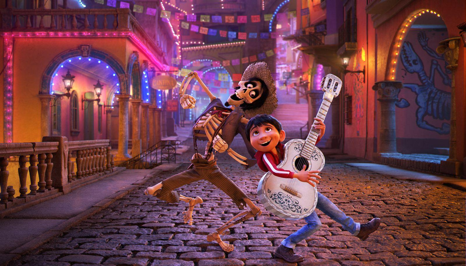 La mort est une fête dans le dessin animé Coco