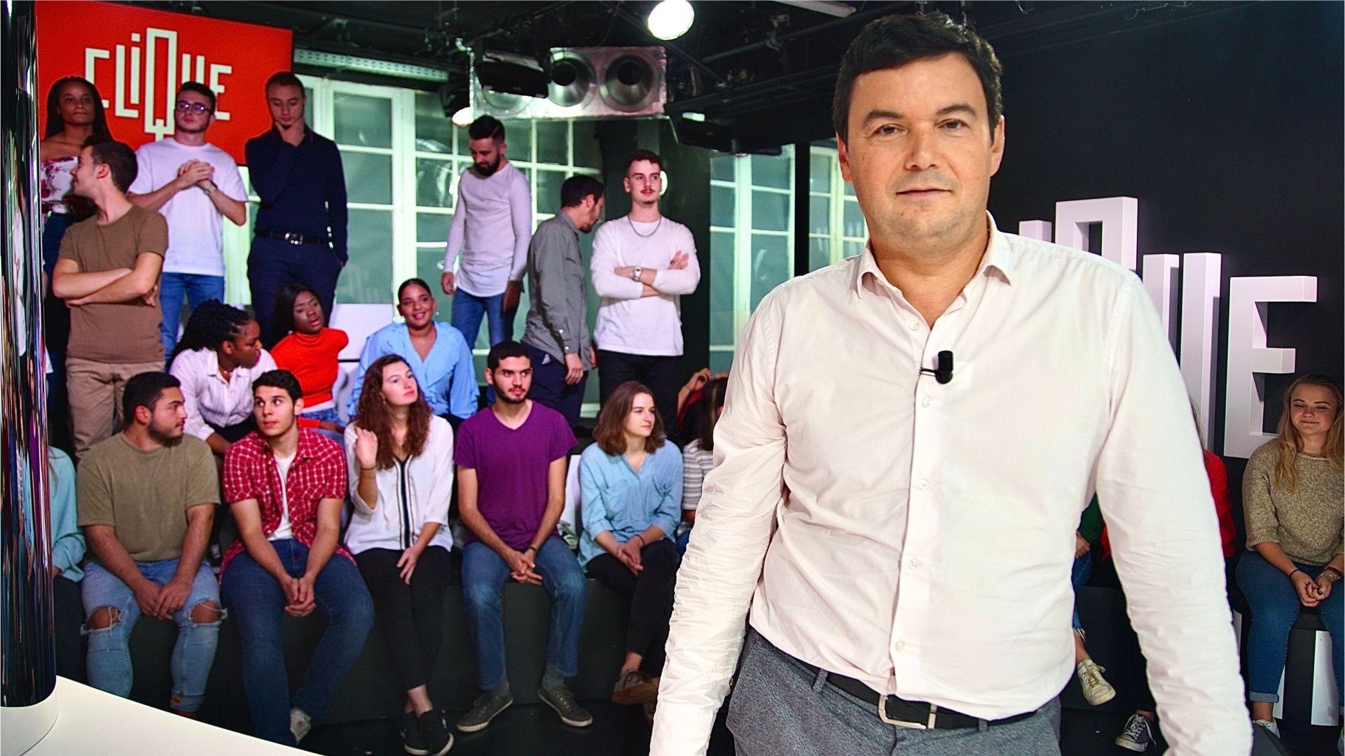 Thomas Piketty est l'homme de la semaine dans Clique