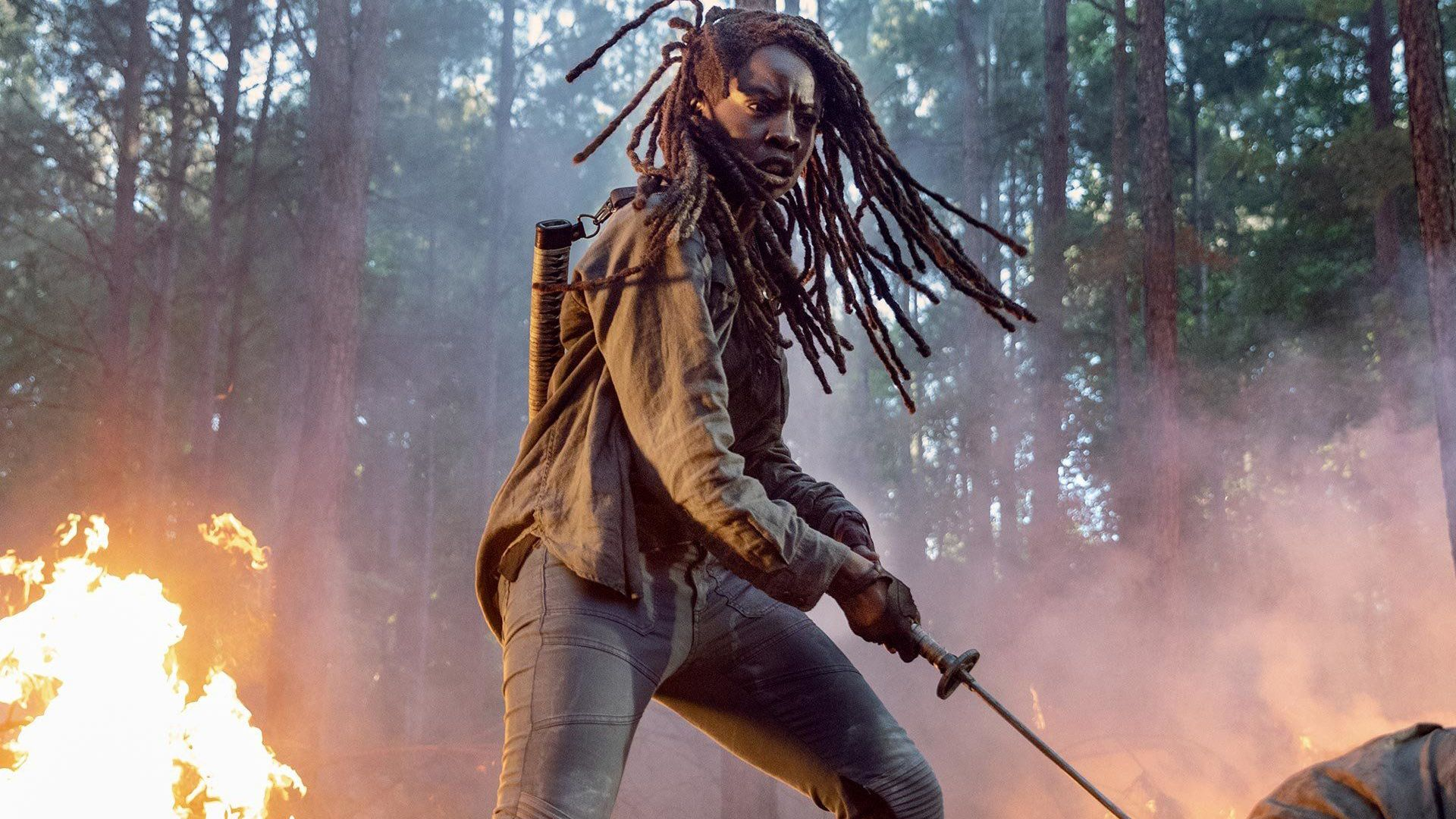 The Walking Dead saison 10 (OCS) : 3 raisons de penser que Michonne va quitter la série vivante