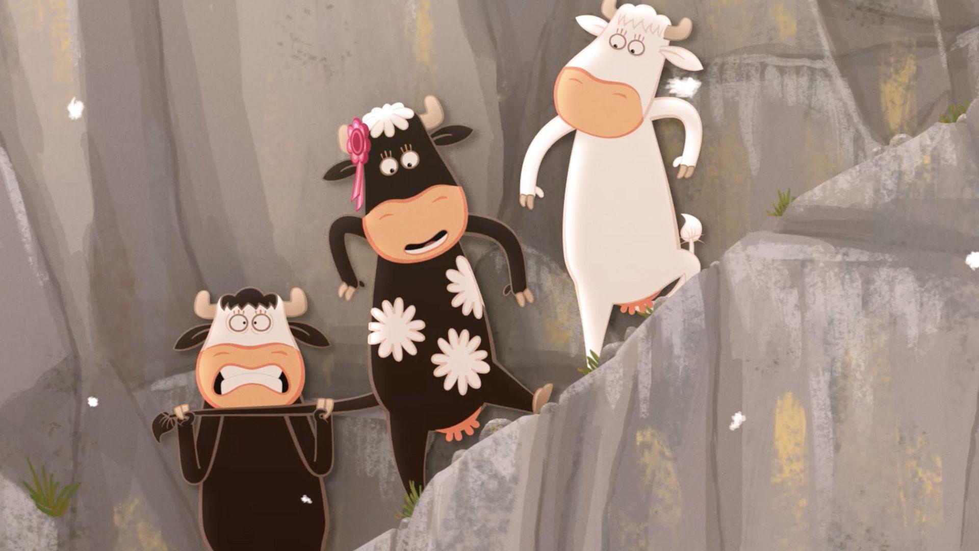 Le quatuor à cornes - Là haut sur la montagne