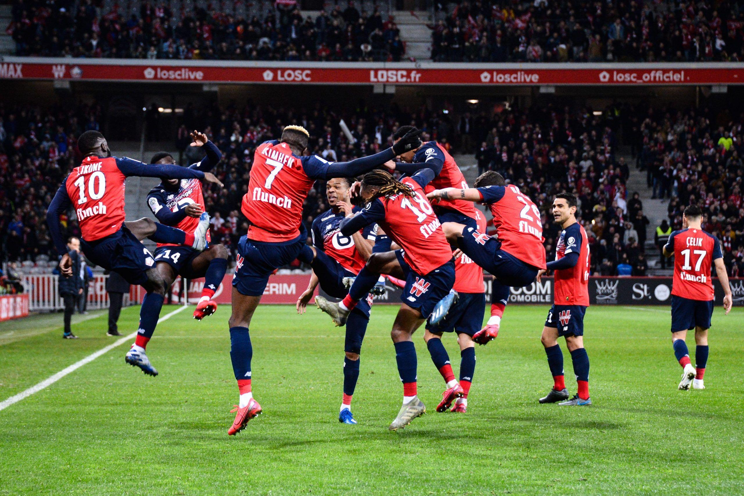 Rennes et Lille écartent Lyon