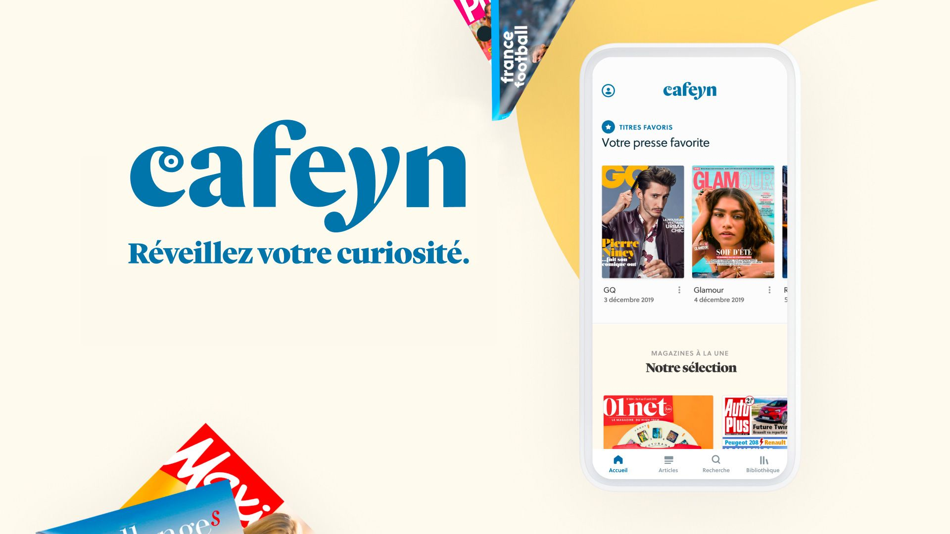 Profitez de la presse en illimité avec Cafeyn - Espace Client CANAL+