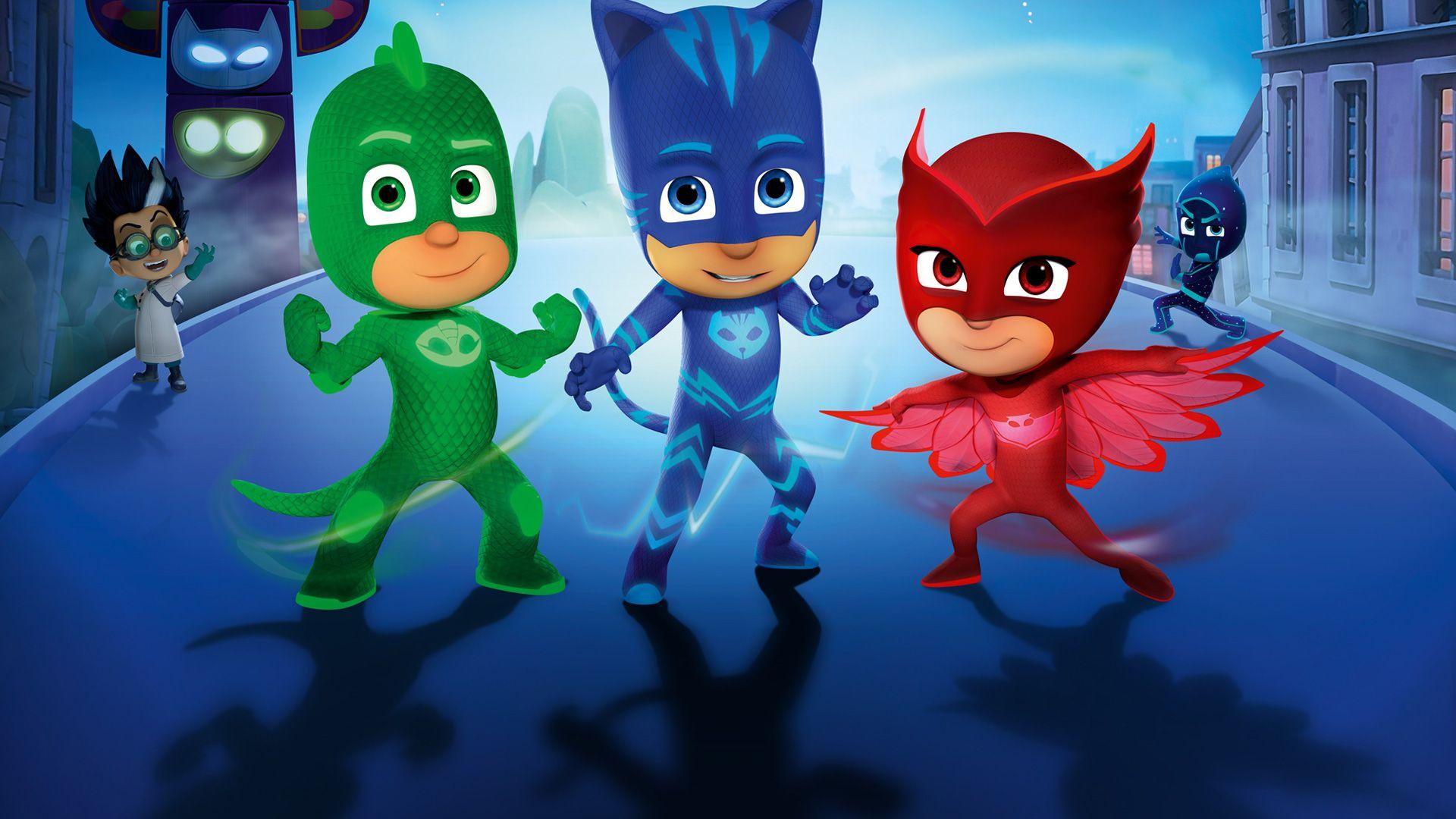 Téléchargez le livret d'activités des Pyjamasques avec Disney Junior