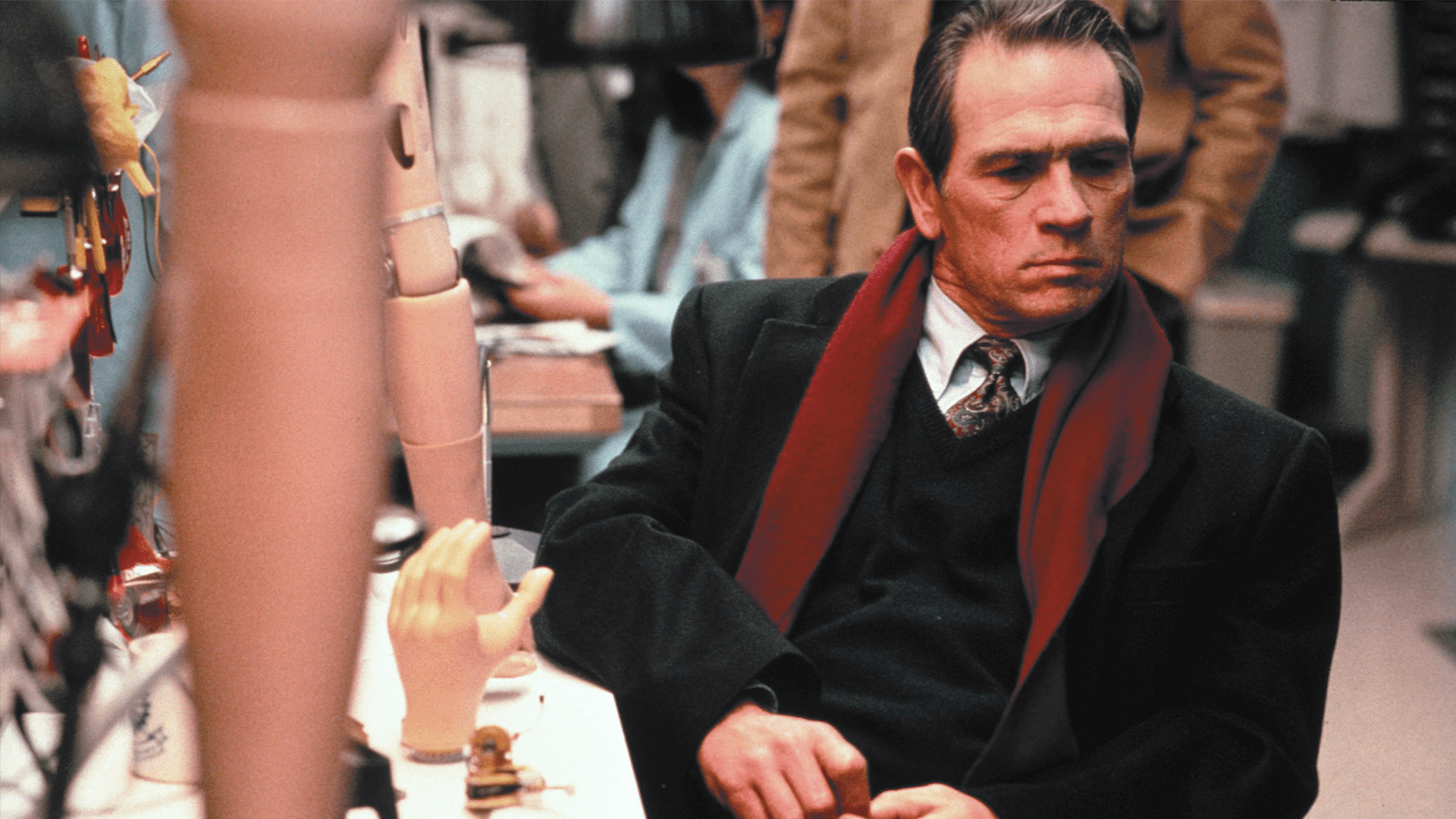 Tommy Lee Jones, fugitif, mais pas que