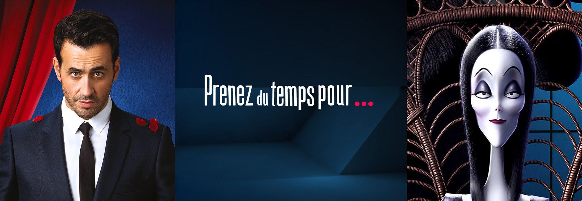 CANAL+ lance l'opération PRENEZ DU TEMPS POUR...