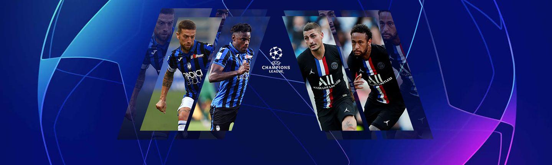 LIGUE DES CHAMPIONS DE L'UEFA - 1/4 finale - ATALANTA / PARIS-SG