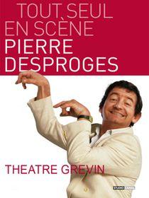 Pierre Desproges, tout seul en scène - Théâtre Grévin
