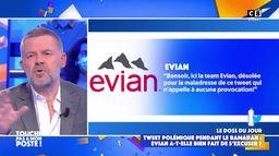 """Tweet d'Evian : Eric Naulleau réagit à la polémique """"Evian n'aurait pas dû s'excuser !"""""""