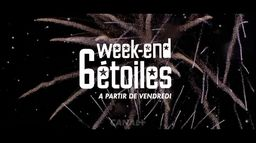 Week-end 6 étoiles, du 16 au 18 avril