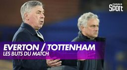 Les buts d'Everton / Tottenham : Premier League
