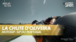 Le replay de la chute d'Oliveira : Grand prix du Portugal