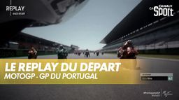 Le replay du départ de la course de Quartararo : Grand prix du Portugal