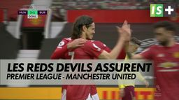 Cavani et les Reds Devils assurent : Premier League : Manchester United