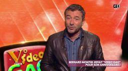 """Pour son anniversaire, Bernard Montiel représente """"Vidéo Gag"""" !"""