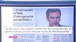 Olivier Véran : début d'une «décroissance de l'épidémie»