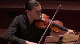 Misha Fomin at the Concertgebouw