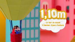 1,10m Le Tour du Monde à Hauteur d'Yeux d'Enfants