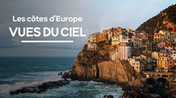 Les côtes d'Europe vues du Ciel