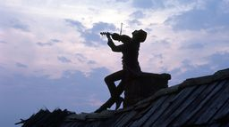 Un violon sur le toit