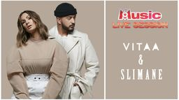 M6 Music Live Session : Vitaa et Slimane