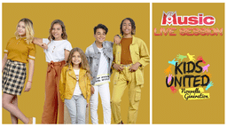 M6 MUSIC LIVE SESSION : KIDS UNITED NOUVELLE GENERATION