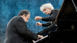 Rachmaninov et Tchaïkovski dirigés par Sir Simon Rattle