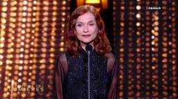 Isabelle Huppert - Discours d'introduction - Lumières 2020