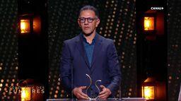 L'acteur Roschdy Zem reçoit le prix du Meilleur Acteur - Lumières 2020