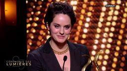 Noémie Merlant reçoit le Lumière de la Meilleure Actrice - Lumières 2020