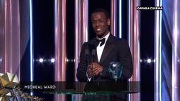 Meilleur espoir pour Micheal Ward - BAFTAs 2020