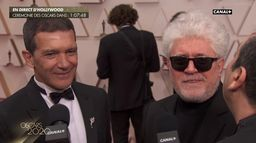 "Antonio Banderas à Pedro Almodóvar : ""Il est coupable de ma nomination"" - Oscars 2020"