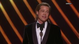 """Brad Pitt - Meilleur Second Rôle pour """"Once Upon a Time in Hollywood"""" - Oscars 2020"""