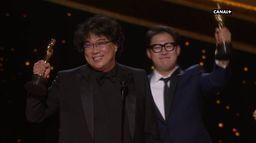 Parasite remporte l'Oscar du meilleur scénario original - Oscars 2020