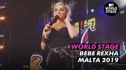 World Stage : Bebe Rexha Isle of MTV 2019