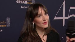 Anaïs Demoustier, fière de représenter Alice et le Maire - César 2020
