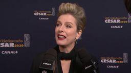 """Karin Viard """"Je suis nommée j'y vais, c'est une question de respect"""" - César 2020"""