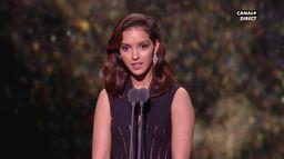 Lyna Khoudri reçoit le César du Meilleur Espoir Féminin - César 2020