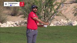 Romain Langasque 3ème provisoire du Qatar Masters : Qatar Masters, 2ème journée