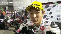 Moto3 - La réaction de Suzuki après sa pôle : Grand Prix du Qatar
