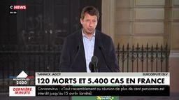 Yannick Jadot : «Je lui demande d'organiser avec ses forces politiques le report du second tour»