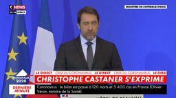 Christophe Castaner : « Dans le contexte particulier, je veux souligner que le niveau de participation n'a rien d'inédit »