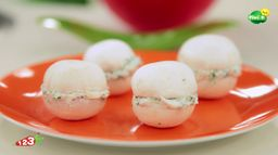 Les macarons de champignons