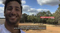 Interview confinée de Daniel Ricciardo : Le meilleur de la Formule 1, seulement sur Canal+