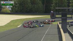 Course 2 - Barber Motorsports Park : INDYCAR i-Racing Challenge