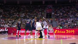 1/4 de finale - Coupe du Monde 2019 : France / USA : Basket - Rétro