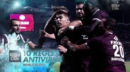 World Rugby - 10 règles Antivirus : Canal Rugby Club