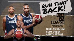 Revivez USA vs France avec Rudy Gobert, Nicolas Batum et Amath M'Baye : Coupe du Monde FIBA 2019
